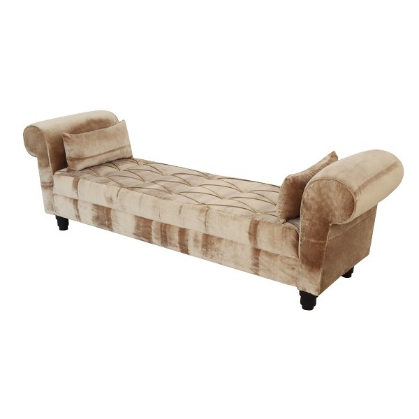 Backless daybed sofa for Chaise guest house