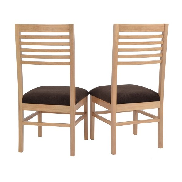 Bargain Hunt dining room chairs natural finish hope this