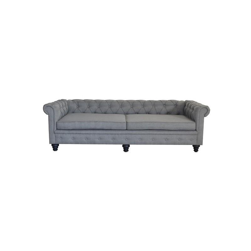 Okparariva Low-Back Tufted Sofa - 3 Seaater