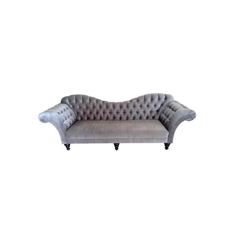 Kadunariva Curved Back Tufted Sofa