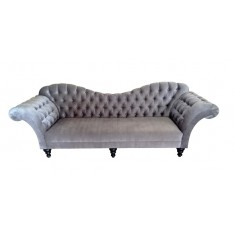 Kadunariva Curved Back Tufted Sofa
