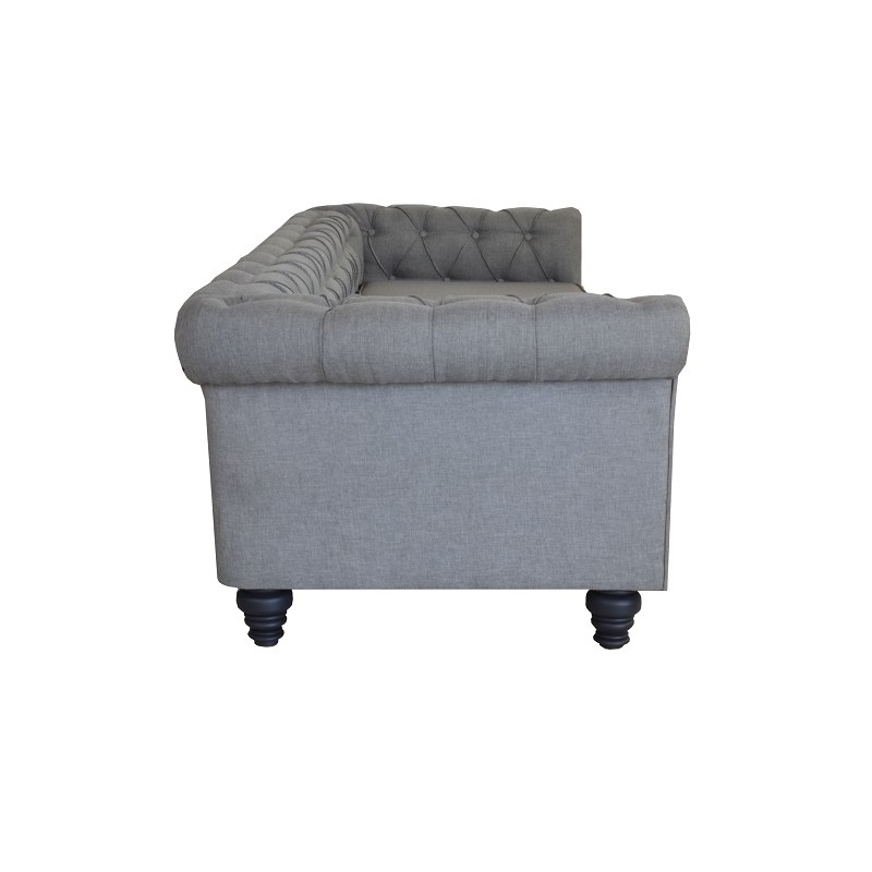 Okparariva Low-Back Tufted Sofa - 2 Seaater