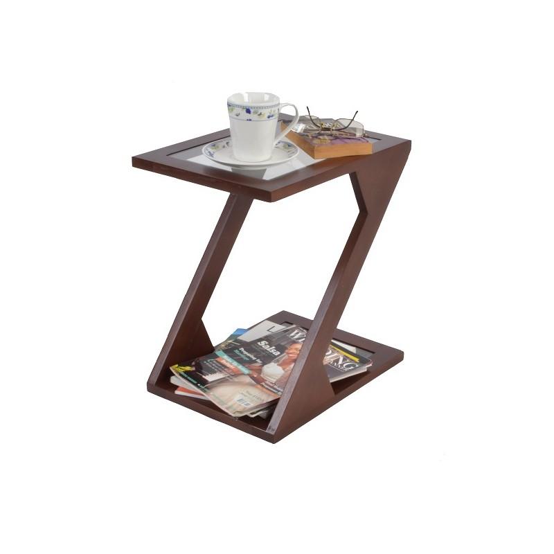 Zuma Side Table (Mahogany Finish)