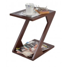 Zuma Side Table (Mahogany Finish)