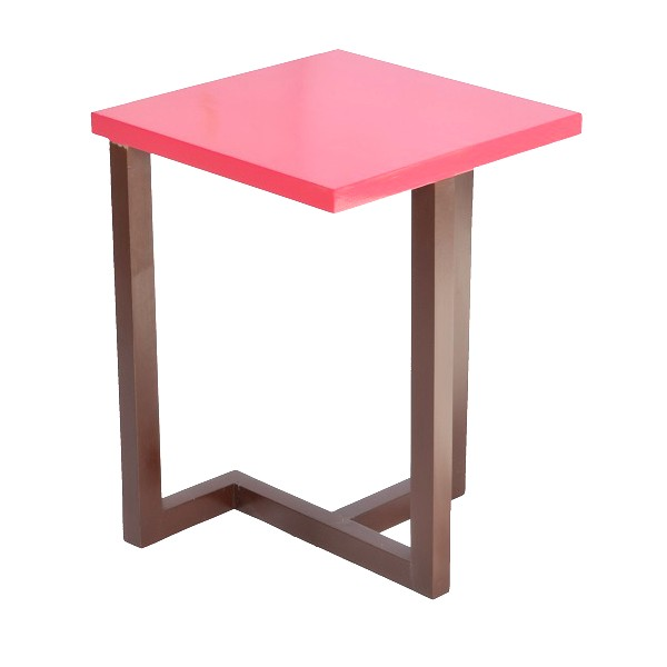 Red chilli side table skarabrand for Red side table
