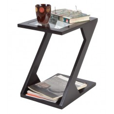 Zuma Side Table (Expresso Finish)
