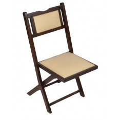 Leki Study Chair (Stained Mahogany Finish)