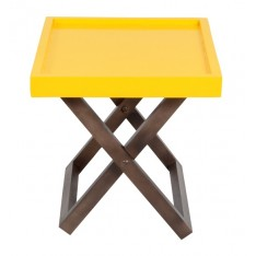 Kuto Foldable Side Table (Yellow)