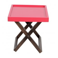 Kuto Foldable Side Table (Red)