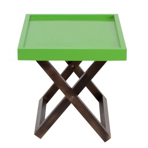 Kuto Foldable Side Table (Green)