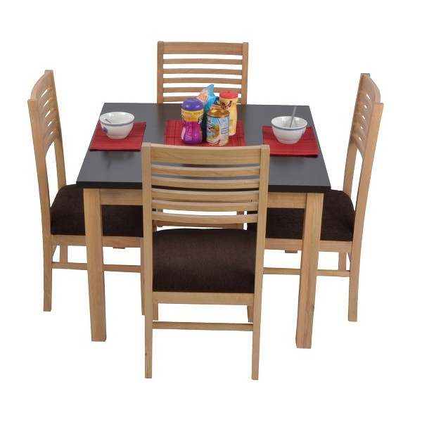 Alaba Dining Table Table Only Skarabrand