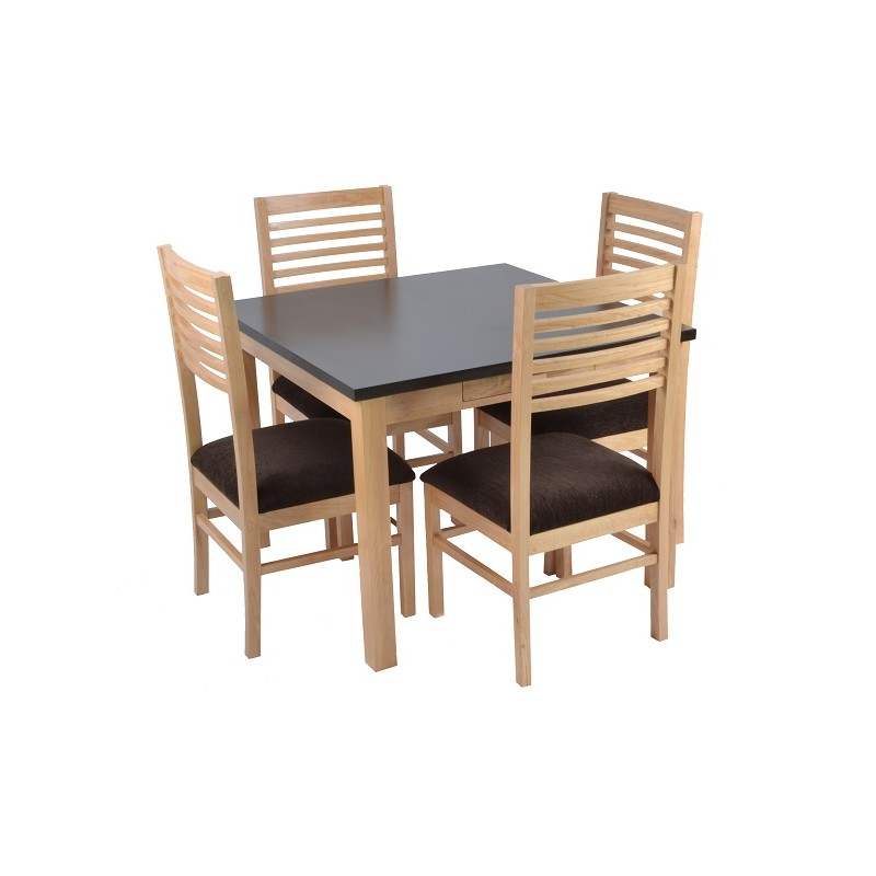 Ladipo 6 Seater Dining Table Table Only Skarabrand