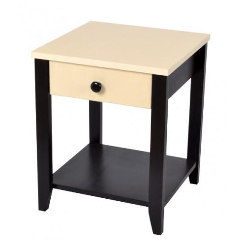 Rafi Bedside Table (Two Tone)