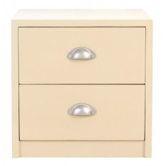 Orumba Bedside Table (Cream)