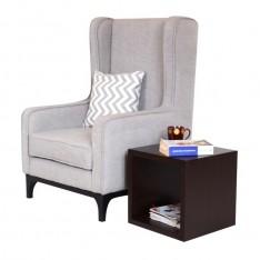 Bagauda WingBack Chair (Premium Fabric)