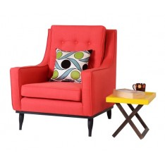 Amuro Arm Chair (Premium Fabric)