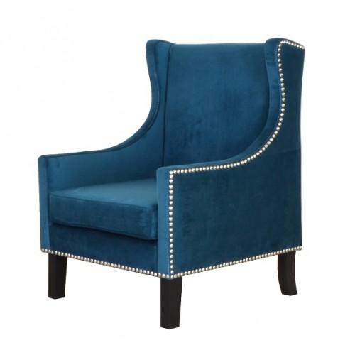 Tombo Wingback Arm Chair (Premium Fabric)