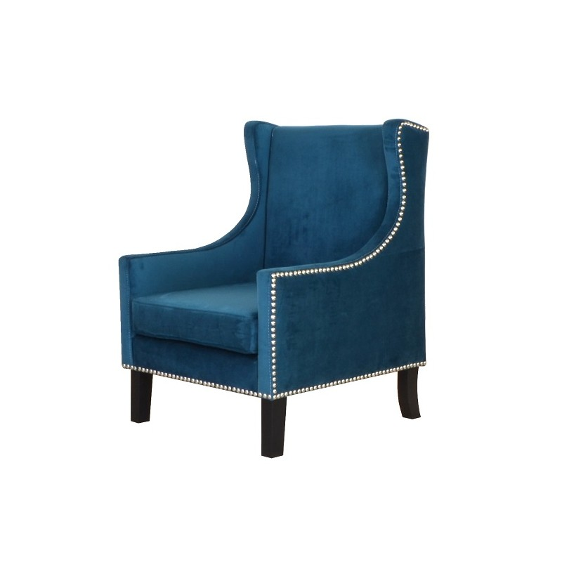 Tombo Wingback Arm Chair (Premium Fabric)